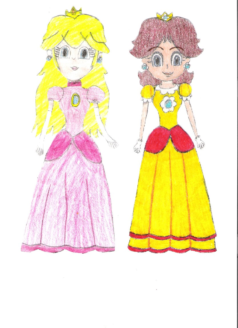 Peach and Daisy: Best Friends by Coolstra