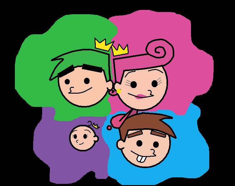 Chibiish Fairly Odd Family by Coolstra