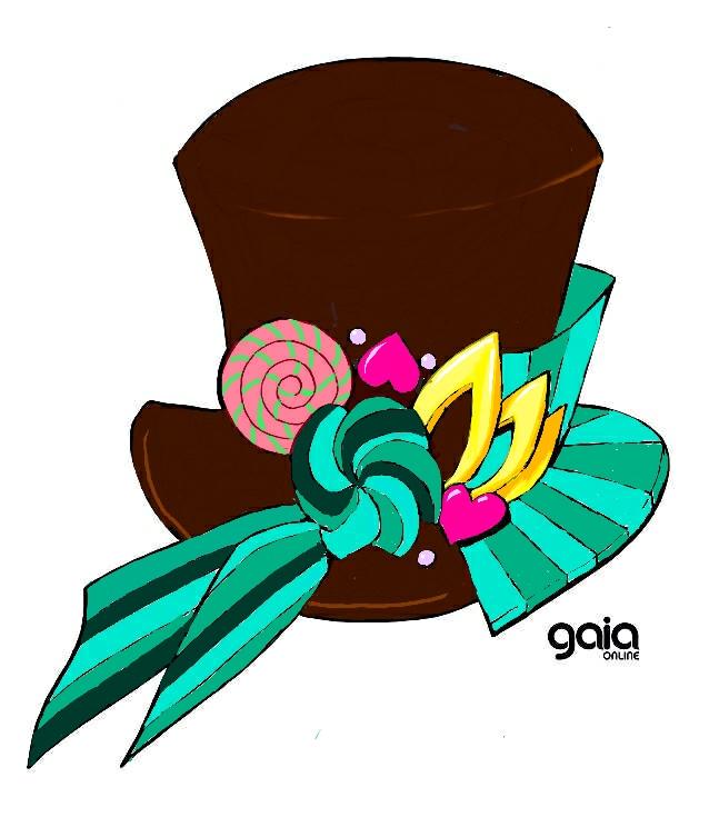 Choco-mint magic hat by Cosmirage