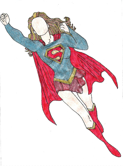 Supergirl by Courtney