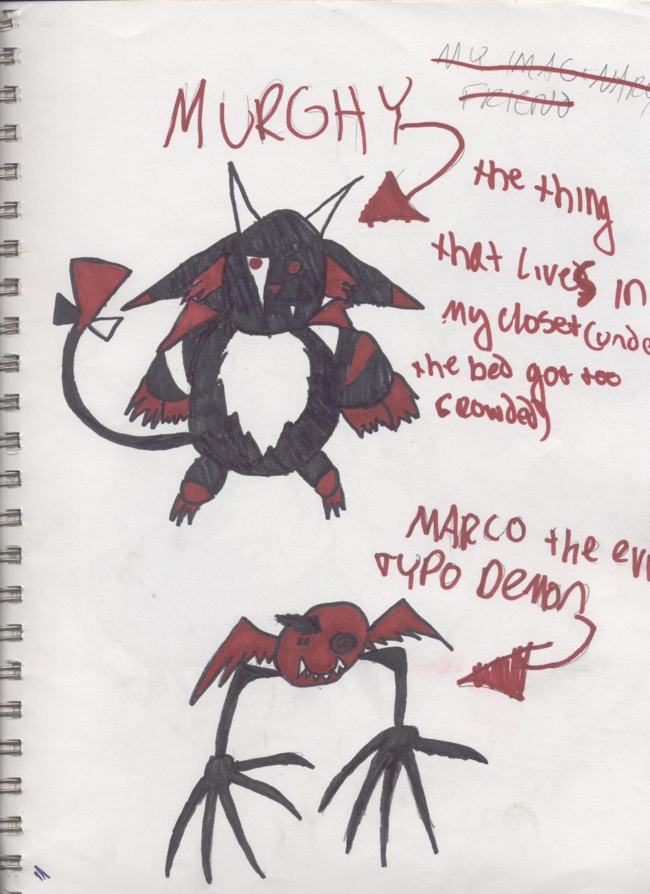 Murghy and Marco! (M&M) by CrashAndBurn