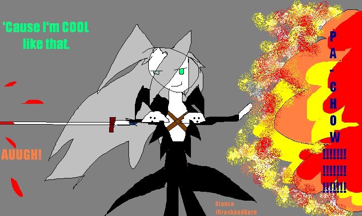 Sephiroth in three easy minutes! by CrashAndBurn