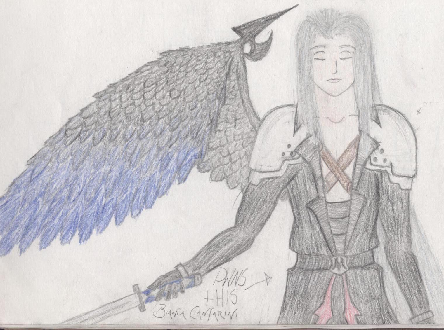 Sephiroth - Bishounen-ish :O by CrashAndBurn