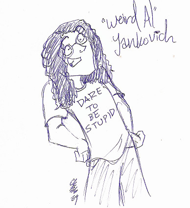 "Weird Al"" Yankovich by CrazyKomouri"