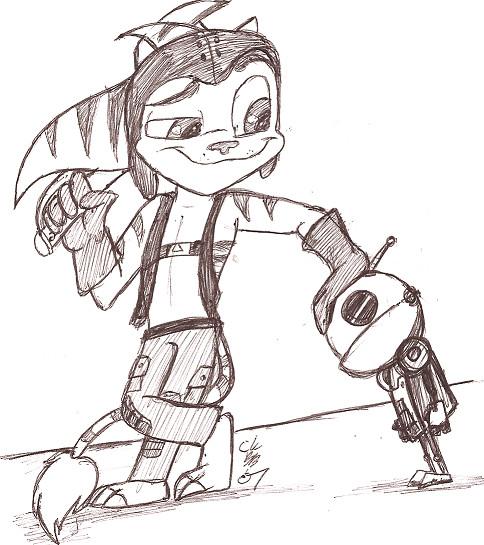 Ratchet & Clank by CrazyKomouri