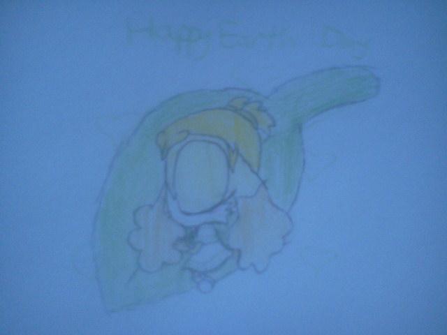 Earth Day 2012- Baby Sunny on a Leaf by CreamandPoppufan166