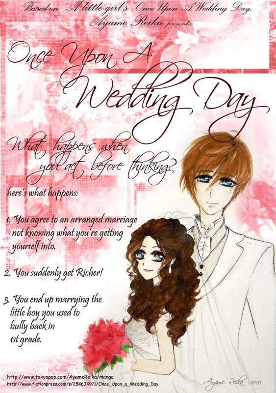 Once Upon A Wedding Day by CrescentButterfly