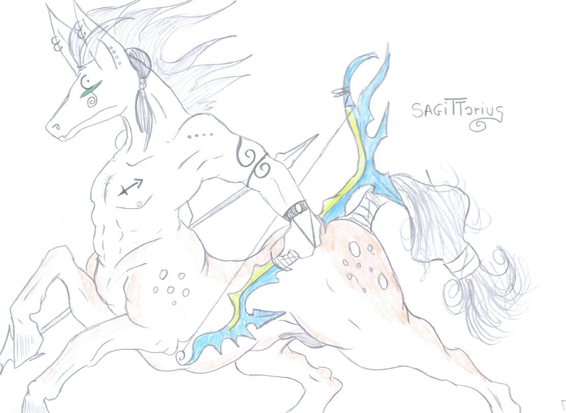 Sagittarius by Cromwell
