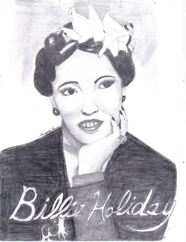 Billie Holiday by CrystalKitsune357