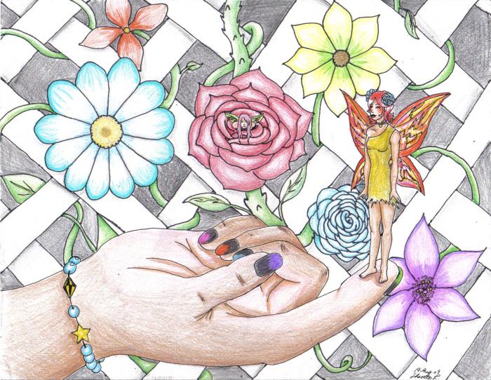 In My Garden by CrystalKitsune357