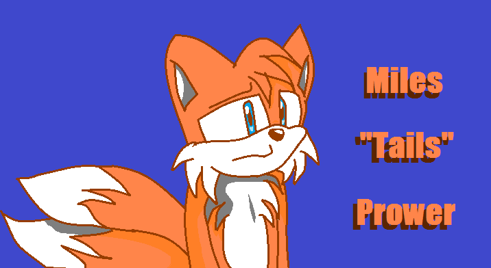 """Miles """"Tails"""" Prower by CrystalPikachu"""