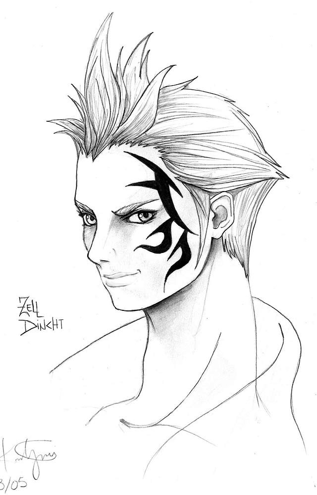 Zell by CupidPhoenix