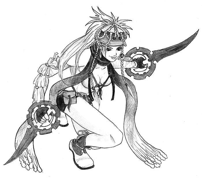 Rikku by CupidPhoenix