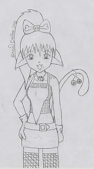 Nekko(PLZ help me name her) by CuteAngelChik