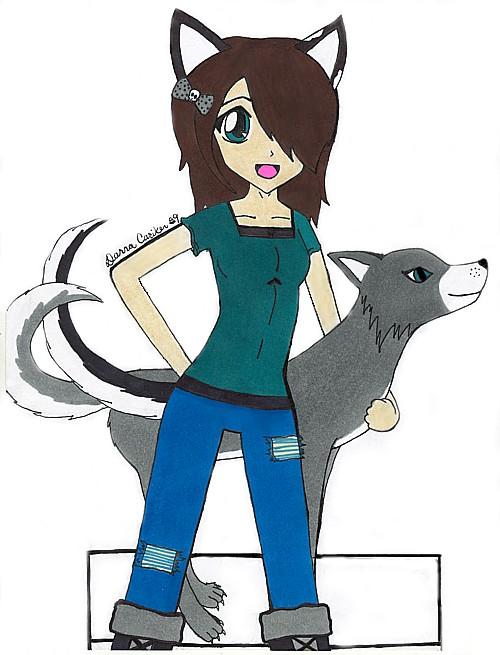 Wolf girl by CuteAngelChik