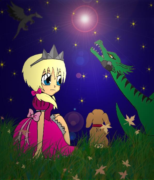 Dragon princess by CuteAngelChik