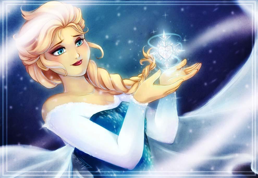 Frozen heart by CyberIrina