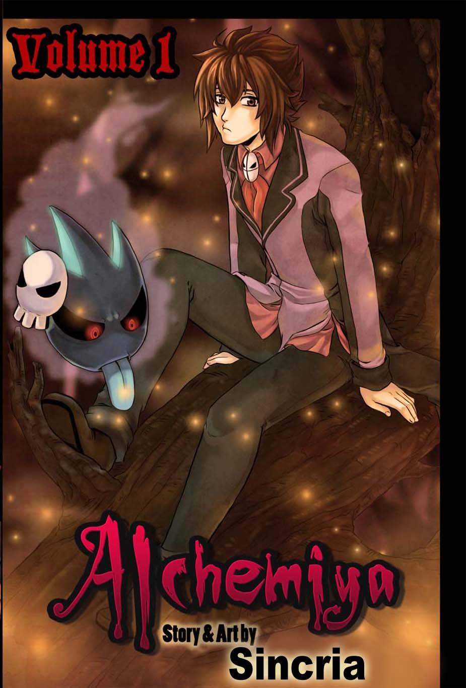 Alchemiya cover page by CyberIrina