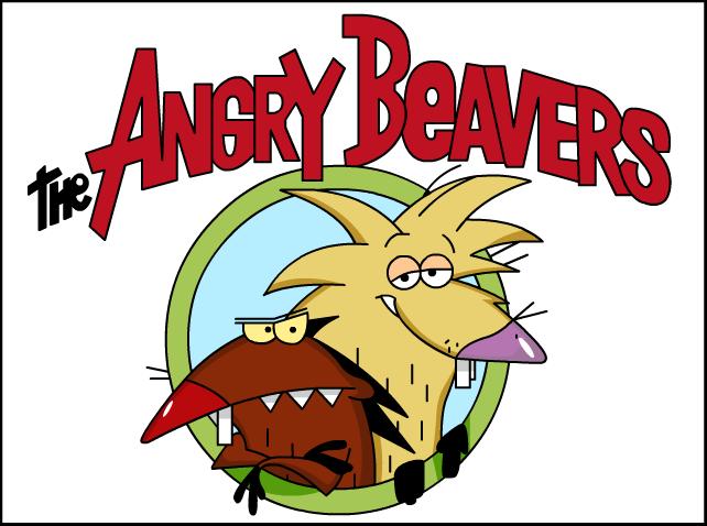 The angry beavers logo