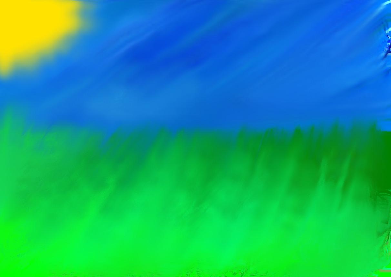Grassy meadow by Cynder_53