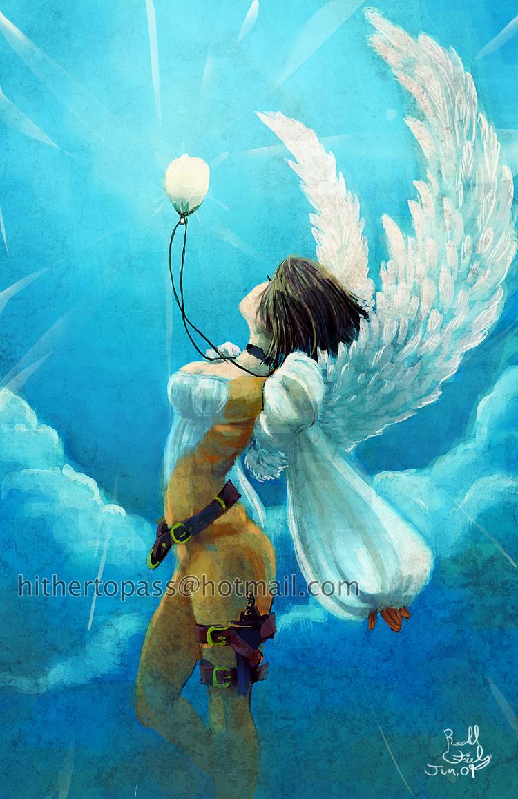 Angel Flight by calahnafurhst
