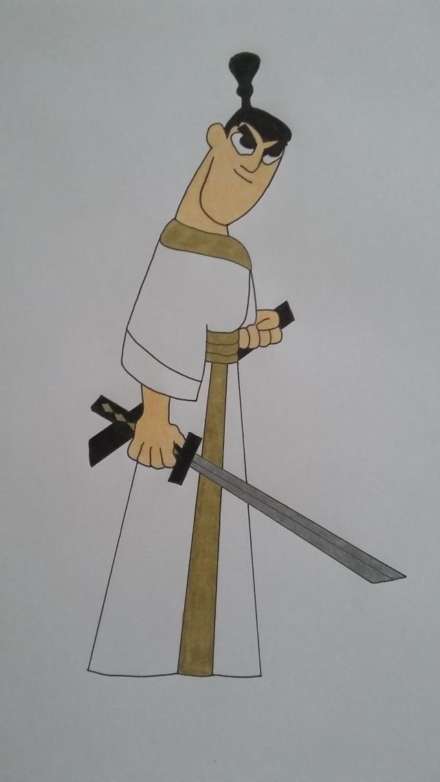 Samurai Jack by cavaloalado