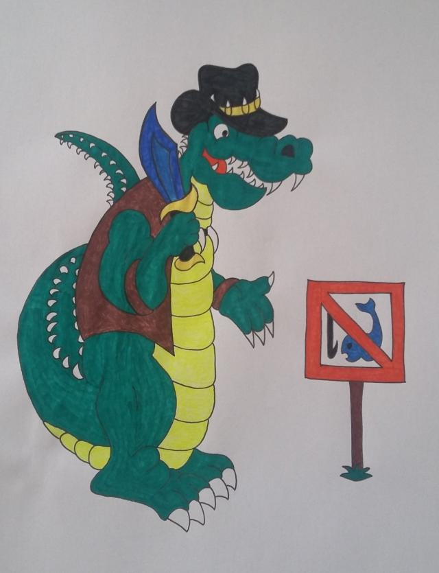 Crocodilo Dundee by cavaloalado
