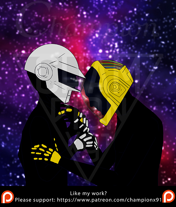Daft Punk - Struggle by championx91