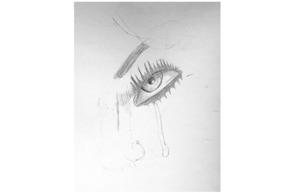 sad eye by chanok-ee