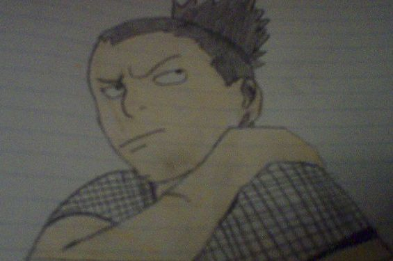 shikamaru by cheezedude