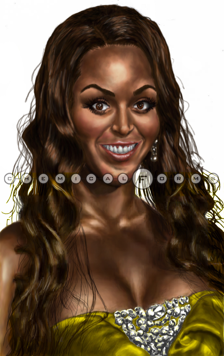 Beyonce Knowles by chemicalRed