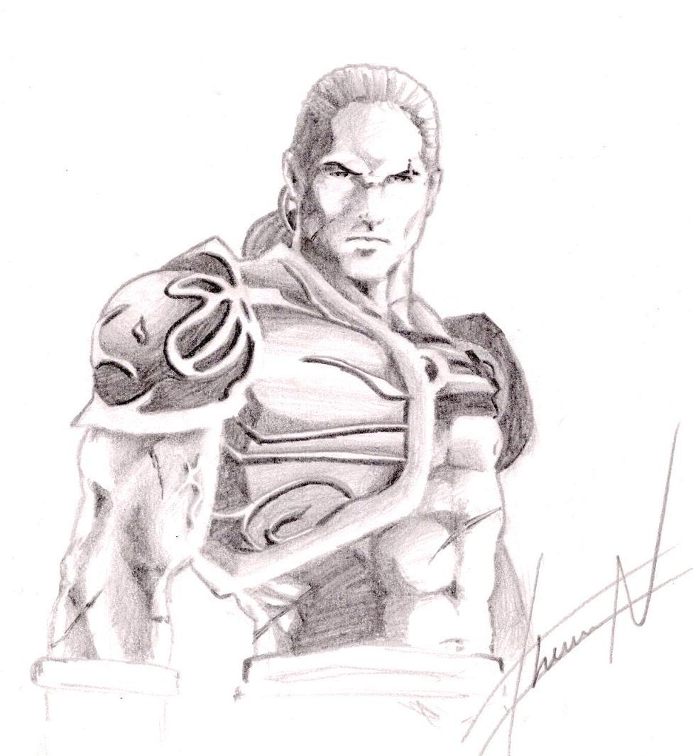 Gladiator by chevronlowery