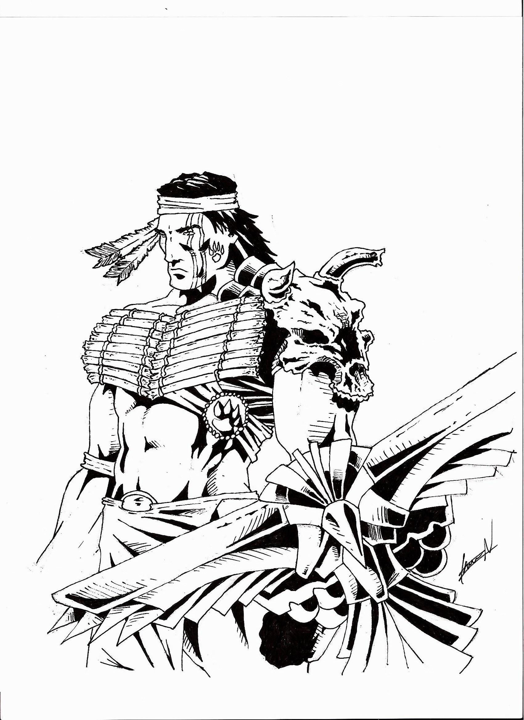 Warrior by chevronlowery