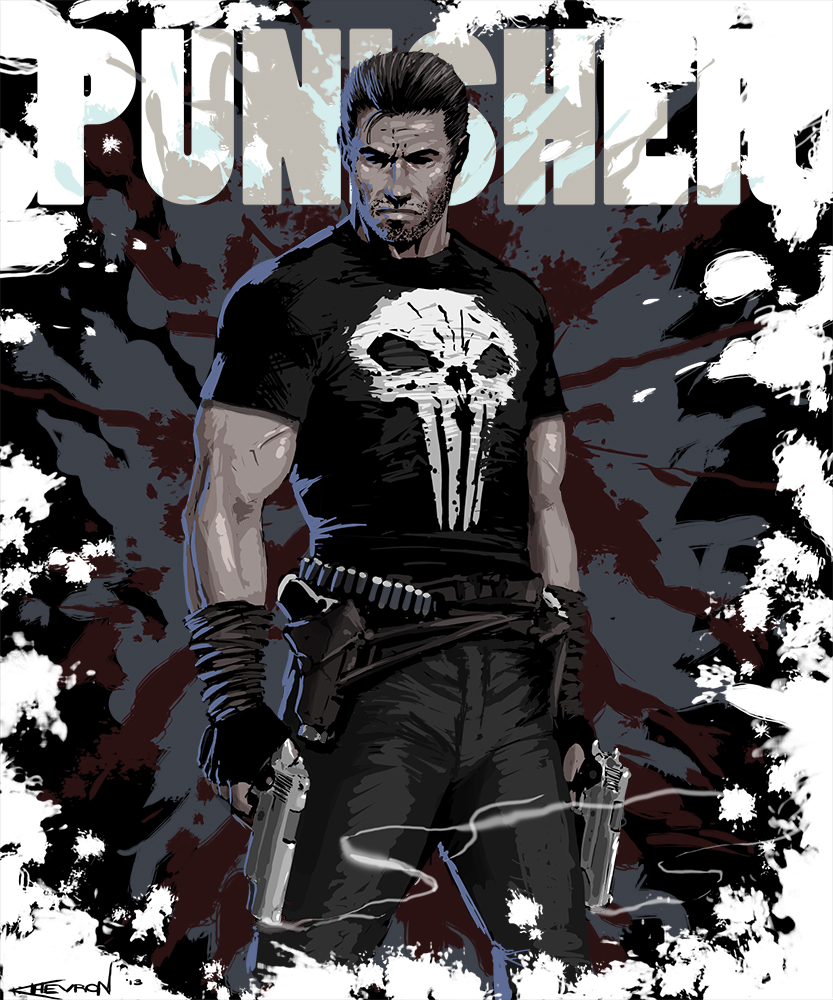 The Punisher by chevronlowery