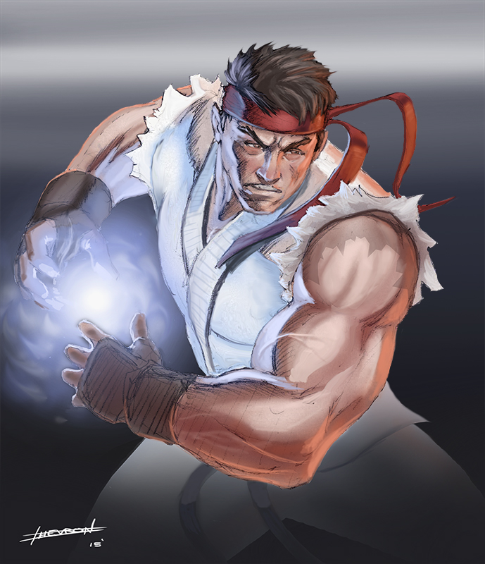 Ryu by chevronlowery