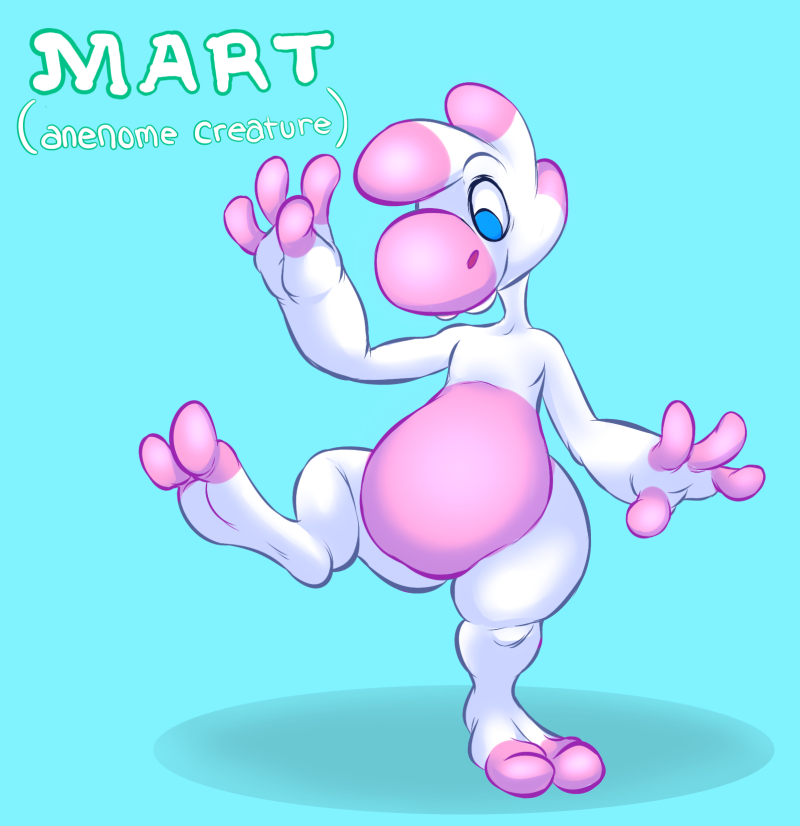 Mart the Anemone by chibibreeder