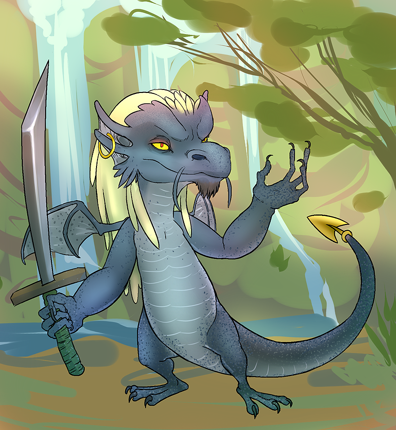 Voloss (neopets- draik) by chibibreeder