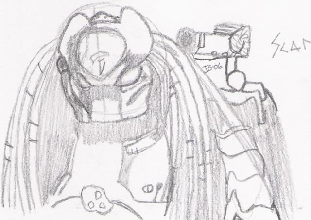 Scar Predator-sketch by chibilombax