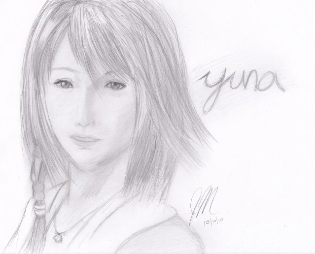 Yuna from Final Fantasy X by chichirifan92