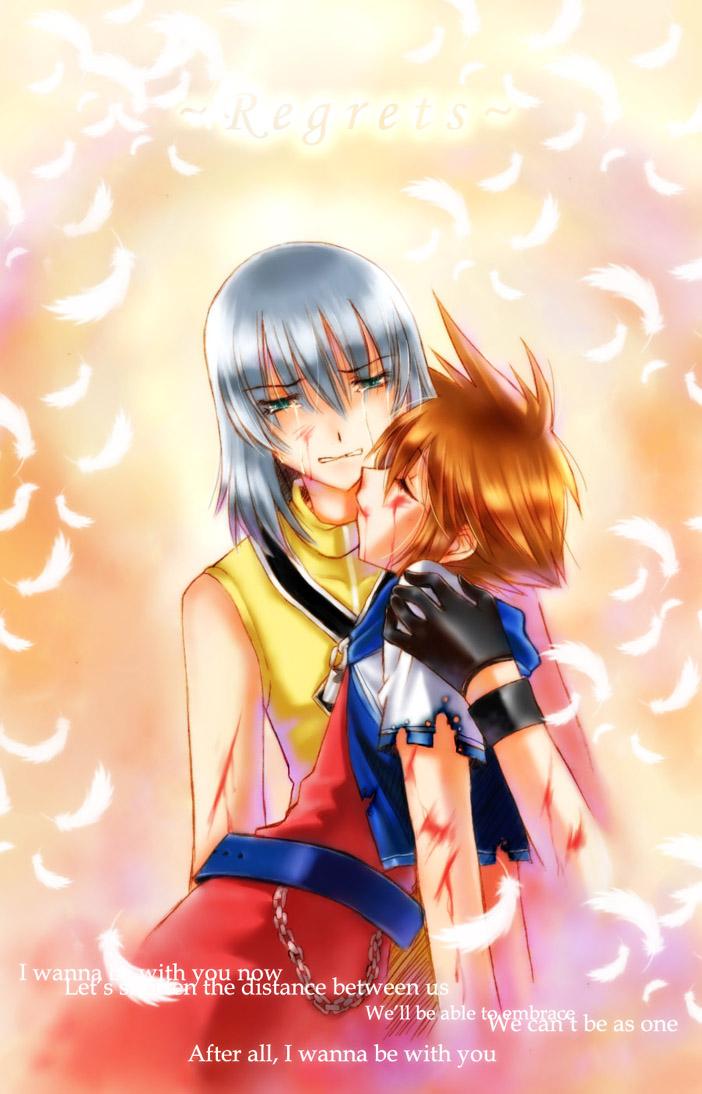 Regrets - Riku/Sora by chiyosuke