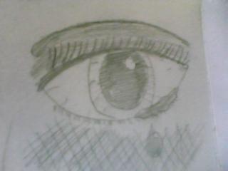 bleeding love eye by chloe