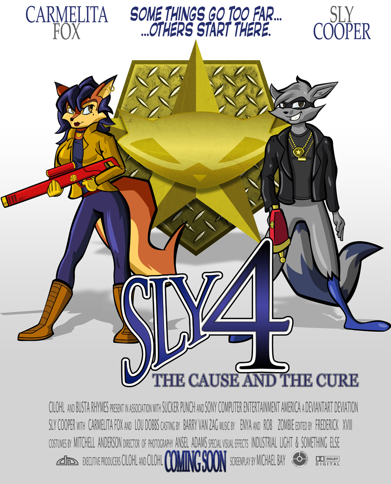Sly 4 Daydream by cilohl