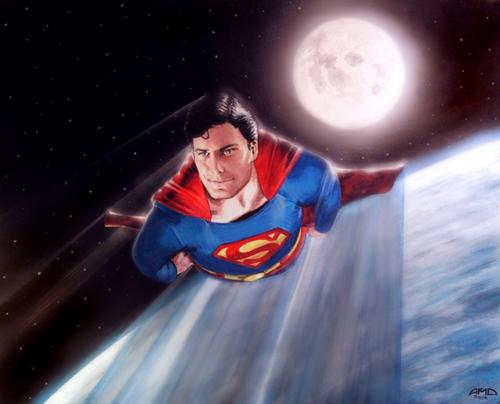 Superman by cinemalad