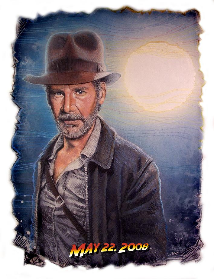"Indiana Jones IV ""Teaser"" poster by cinemalad"