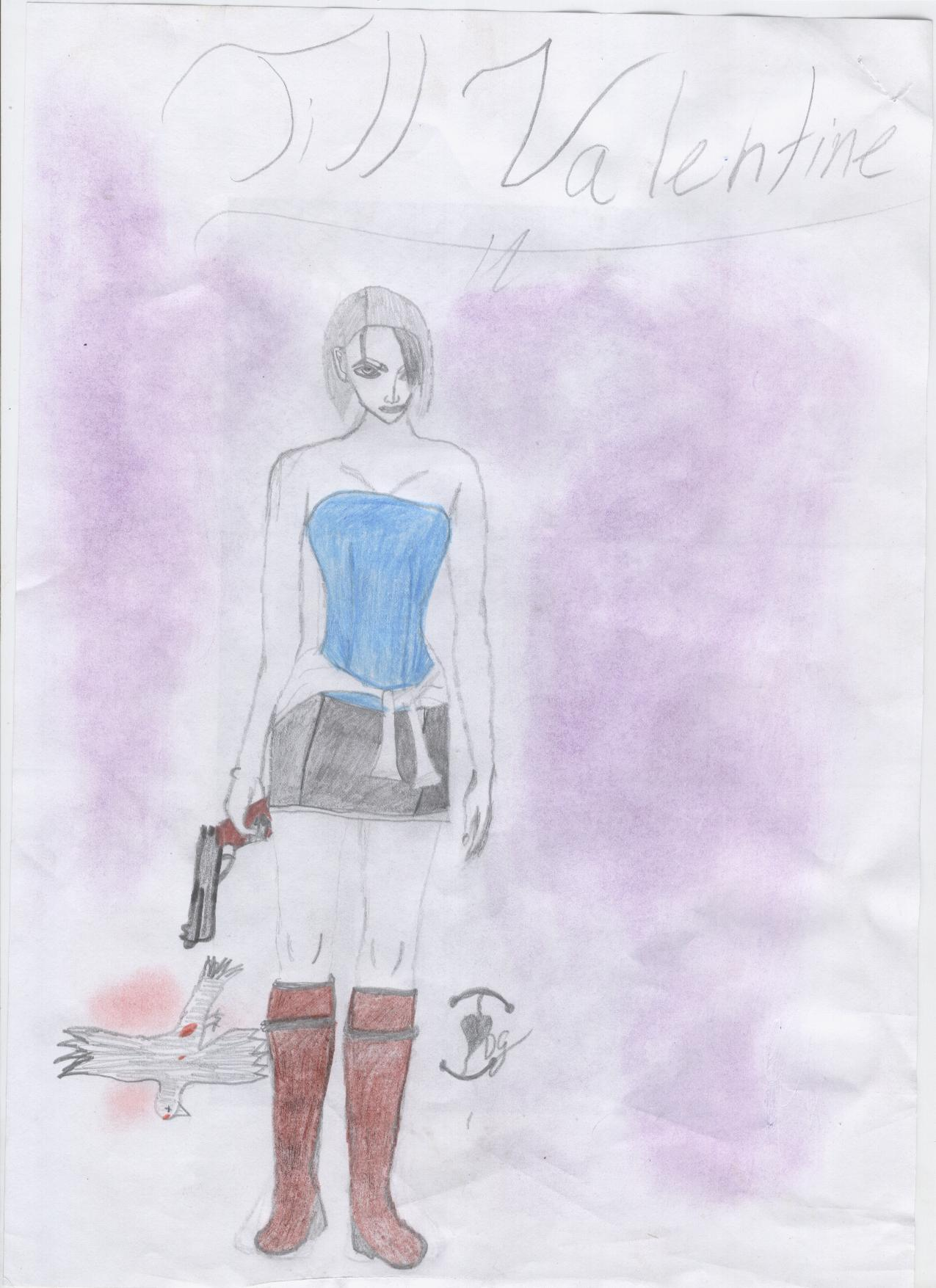 First jill valentine picture by claires-guardian