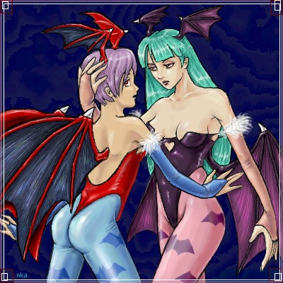 Morrigan and Lilith by clarion