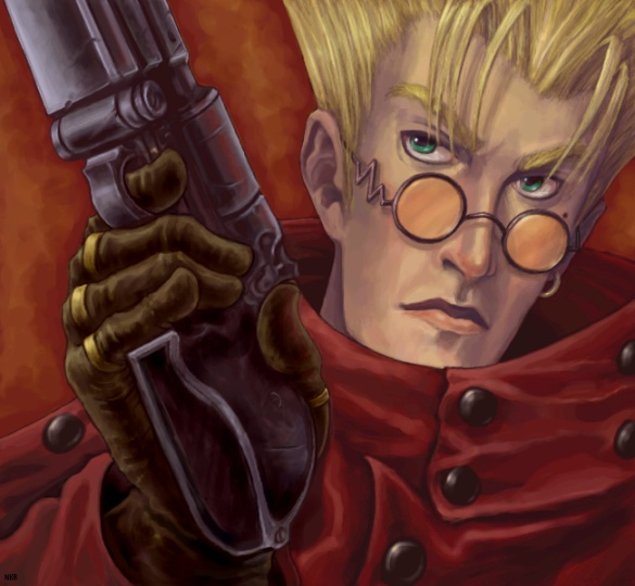 Vash the Stampede by clarion