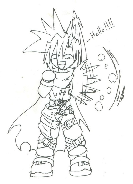 happy chibi cloud by cloudy