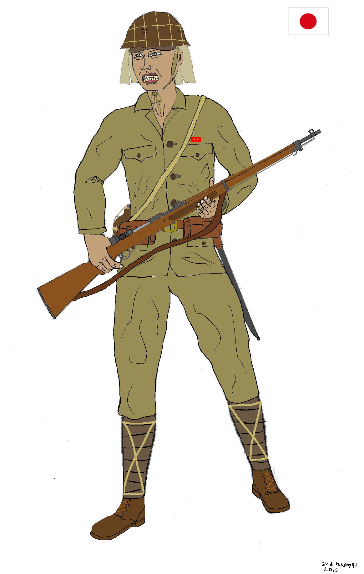 Japanese soldier WW2 by colt91