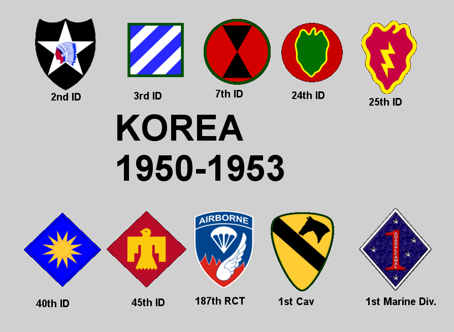 Korean war divison insignia by colt91